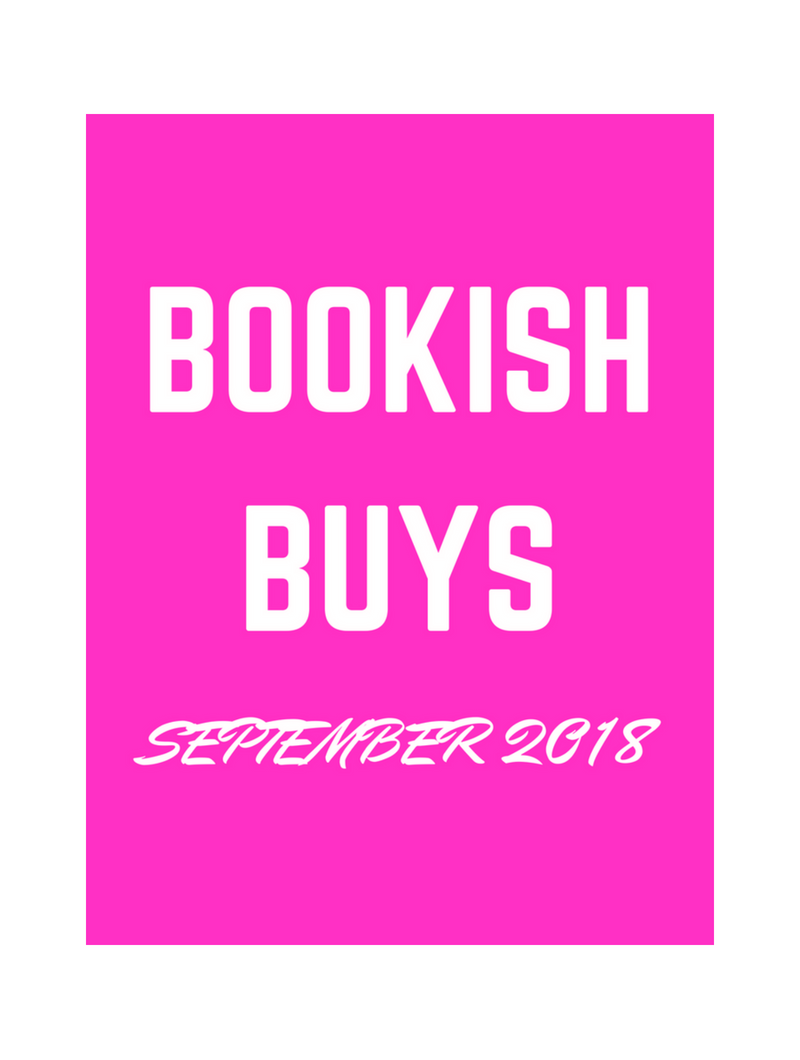 BOOKISH BUYS SEPTEMBER 18