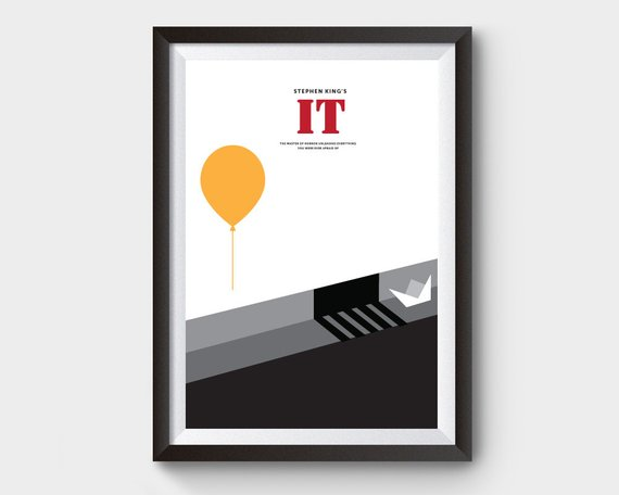 Stephen King IT print