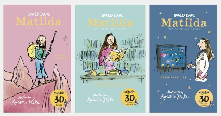 matilda 30th anniversary books