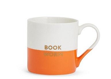 m&s bookworm mug