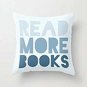read more books cushion