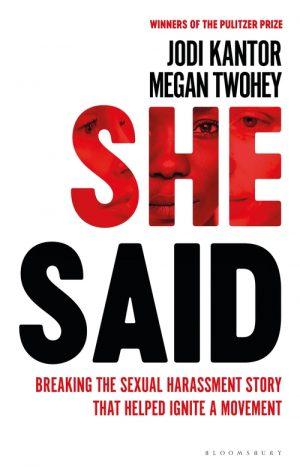 She Said by Jodi Kantor & Megan Twohey